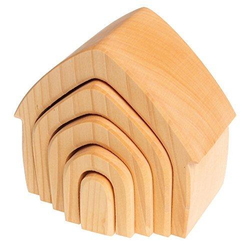 Spiel & Holz Design Casa Apilable - natural