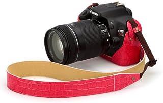 HAKUBA ピクスギア 本革ボディケースセット Canon EOS Kiss X4用 クロコ調ピンク DBC-KX4CDPK