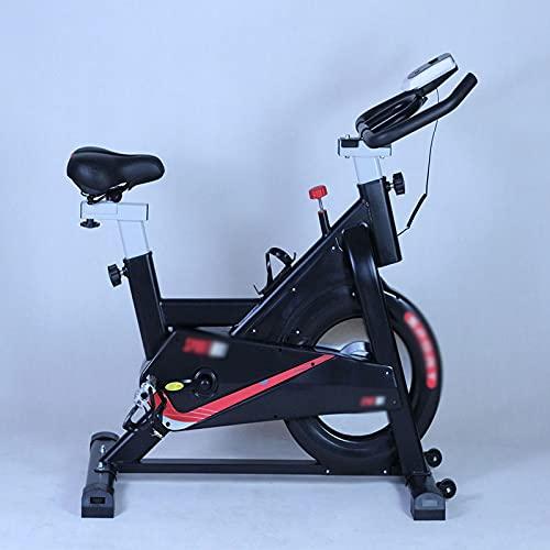 CJDM Bicicletas de Interior para el hogar, Bicicletas de Ejercicio con Volante, Bicicletas de Correas, Bicicletas Deportivas de Spinning, Bicicletas de Oficina, Equipos de Entrenamiento de Gimnasio