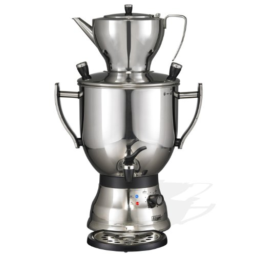 Beem Samowar 3003 Wasserkocher Edelsahl 3 Liter schwarz