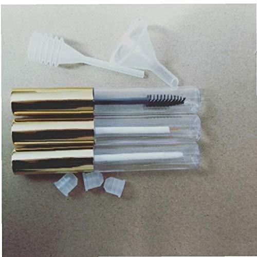 Mascara vide Tube Eyeliner Bouteille Lip Gloss Tubes Flacons récipients contenant des brosses Mini Wands Entonnoir Transfert Pipettes Kit