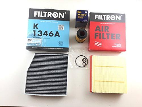 Ölfilter Luftfilter Innenraumfilter Aktivkohle B-Klasse W246 180 CDI (nur 1796 ccm) 200 CDI 220 CDI Diesel