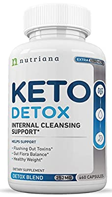 Best Keto Detox Cleanse Weight Loss Pills For Women and Men - Keto Colon Cleanser and Detox for Weight Loss - Ketogenic Diet Support to Boost Energy and Flush Toxins - 60 Count
