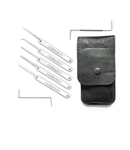 Picklock24. Kit de ganzúas PRO, tamaño M (7...
