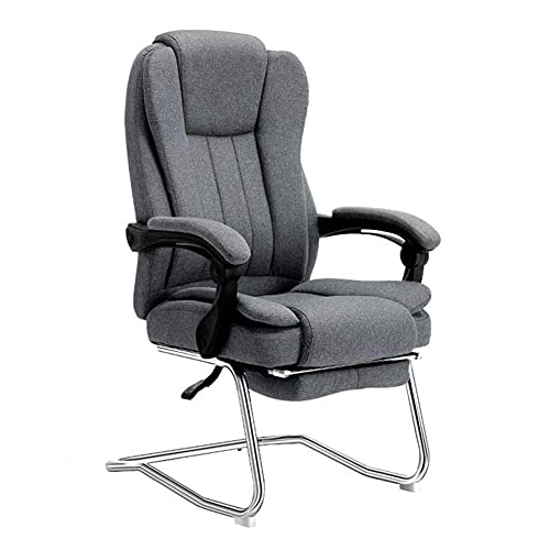n.g. Living Room Accessories Leisure Chairs Office Chair Ergonomic Telescopic Footrest Computer Chair Tilt Function Recliner Lumbar Support Seat Height 45cm Durable Strong