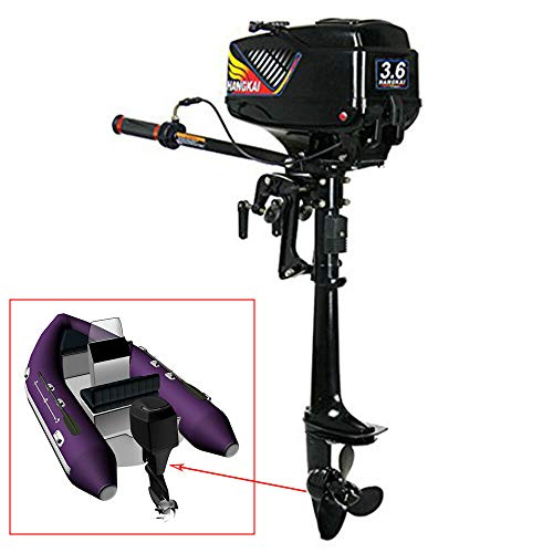 Fantastic Deal! BOYU-SHITAI 2 Stroke 3.6 HP Power Outboard Motor Boat Fishing Engine Water Cooling S...