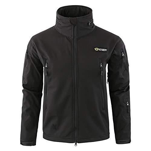 Zarupeng Mannen sportjassen winddicht warm outdoor jas met capuchon effen dunne lange mouwen sweatjas uniform werkkleding