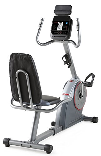 Proform Vélo d'appartement semi-allongé, assise avec dossier, compatible Bluetooth Appli iFit Cardio - 325 CSX+