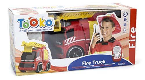 RC Auto kaufen Feuerwehr Bild 3: Silverlit Ferngesteuertes Feuerwehrauto 81486*