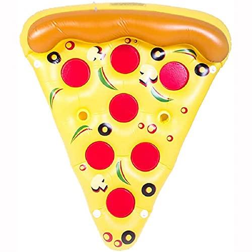 XBSXP Il Letto Galleggiante Gonfiabile per Pizza È Sicuro Ed Ecologico Portatile Pieghevole E Facile da Riporre Non Occupa Spazio Ed È Facile da Spostare