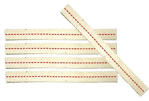feu main plat mèche 12,5 mm x 12 cm Lot de 5