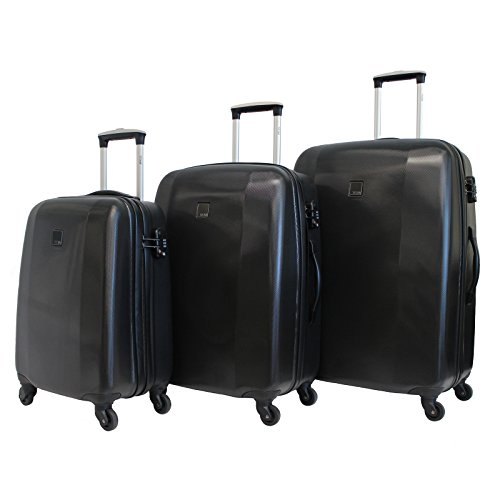 TITAN Hardshell 3 Piece Spinner TSA Combination Lock Luggage Set