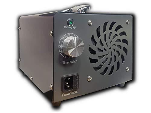 VISELED Generador de Ozono Profesional KS-10G, 10.000mg/h, 220V, 80W para Hogar, Oficina, Restaurante, Habitación, Coche (Negro) en Stock