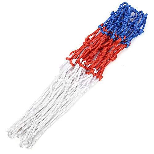 MAGT Rete da Basket, BuyWeek Rete da Ispessimento Professionale per Rete da Basket in Poliestere 12 Loop per canestro da Esterno per Interni