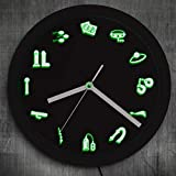 The Geeky Days Adult Shop Business Neon Sign LED Wall Clock Sex Entertainment Wall Clock Modern Design Home Room Bedroom Decor
