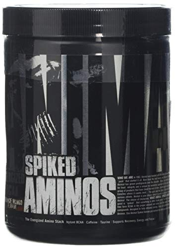 Universal Nutrition Animal Spiked Aminos Supplement, 210 g, Orange Mango