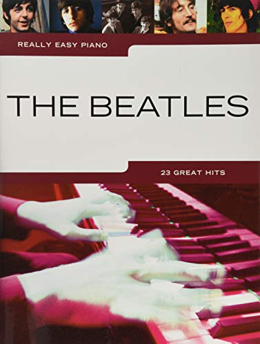 REALLY EASY PIANO THE BEATLES