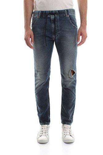 Diesel Herren Hose Krooley - NE Sweat Mens Jogg Jeans Kordel 084TZ Stretch (W28)