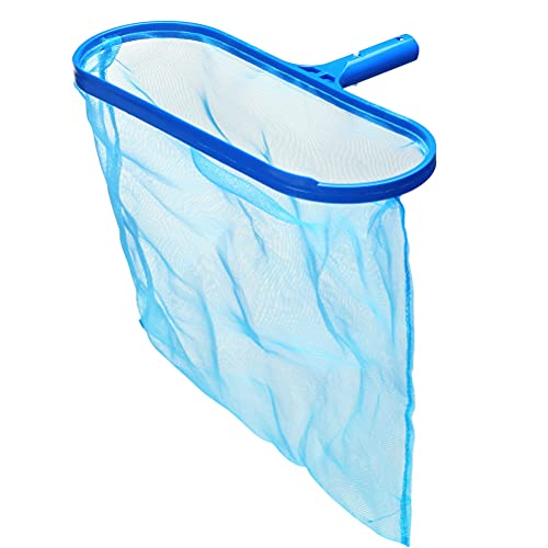 HOMIMP Leaf Skimmer Net Swimming Pool Cleaner Supplies/Professional Heavy Duty Deep Bag Pool Leaf Rake Fine Mesh Frame Net/Swimming Pool Cleaning for In-ground & Above-Ground Pool