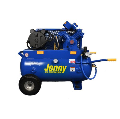 Jenny G3A-30 Single Stage Horizontal Corded Electric Powered Stationary Tank...