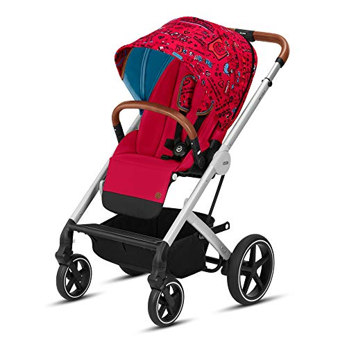 Cybex Balios S Convertible Baby Stroller with Sun Canopy, Love Red