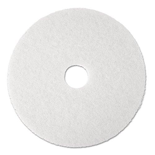 PAD 3M 5 PEZZI Bianco da 13 pollici 330 mm per lavapavimenti e monospazzole