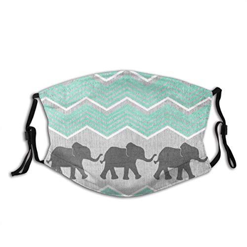 Transpirable unisex para proteger la cara, reutilizable, máscara de tres elefantes, pasamontañas, diademas para adultos y deportes al aire libre