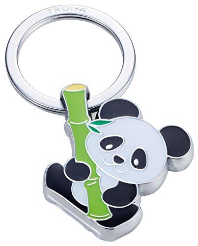 Troika Bamboo Panda Schlüsselanhänger Pandabä