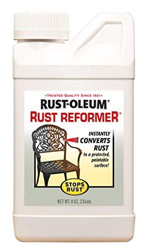Rust-Oleum 7830730 7830-730 Rust Reformer, 8 Fl Oz (Pack of 1), Black
