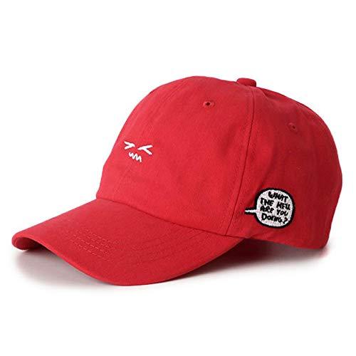 Gorras de béisbol de ala doblada Que Venden Gorras Bordadas de expresión pequeña y Bonitas Gorras Casuales para Exteriores para Amantes del Verano