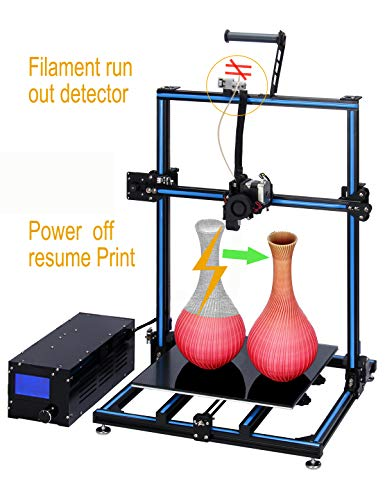 ADIMLab Updated Gantry Pro 3D Printer with 310X310X410 Big Size 24V Power, New E3D Direct Extruder,...
