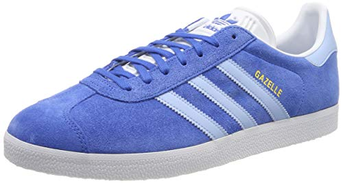adidas Herren GAZELLE Gymnastikschuhe Blau (True Blue/Clear Sky/FTWR White), 39 EU