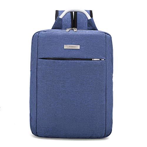 Zaini Yuzhijie Fashion Light Zaino da Uomo da Viaggio Zaino Business Big capacità Borsa Borsa per Computer a Due scopi, Blu Zaini (Color : Blue)
