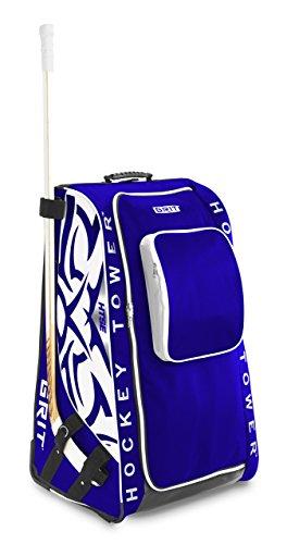 Grit HTSE Hockey Tower Wheeled Equipment Bag - 36in, Größe:Senior;Farbe:Toronto
