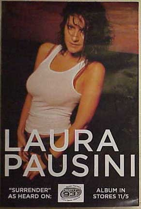 Laura PAUSINI Surrender poster. The poster is not sold by Laura PAUSINI