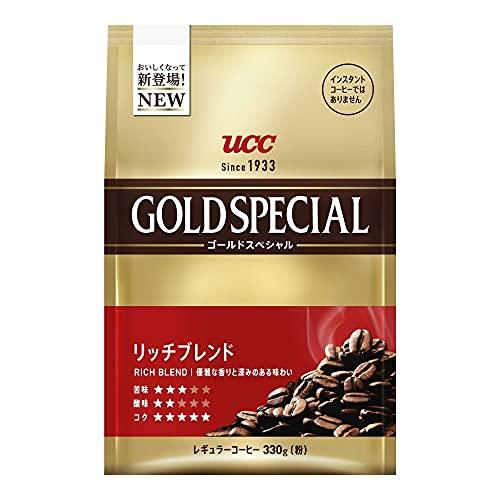 UCC ゴールドスペシャル リッチブレンド SAP 330g×6個