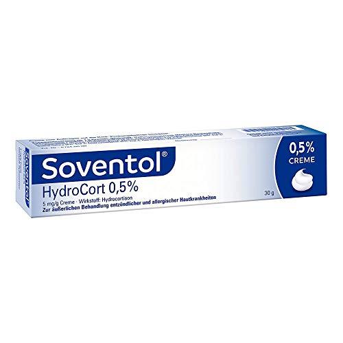 Soventol HydroCort 0,5 {c8d0831d44804569de6bafe4eda2523026b29851db634434a09318ff434afee9} 5 mg/g, 30 g