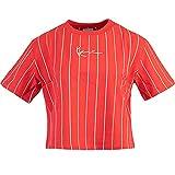 Karl Kani Small Signature Pin Crop Women Shirt (M, red)