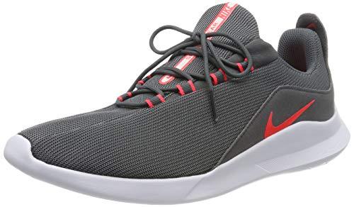 Nike Herren Viale Laufschuhe, Grau (Dk Grey/Flash Crimson/Lt Soft Pink 013), 43 EU
