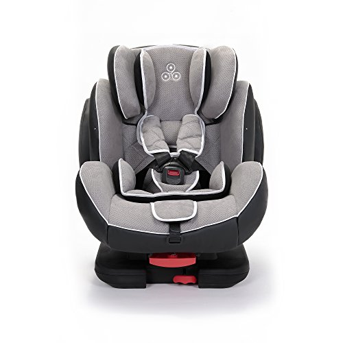 Ickle Bubba Solar ISOFIX Car Seat | Group 1-2-3 from 9kg to 36kg | Magnetic Buckle Closure, Top...