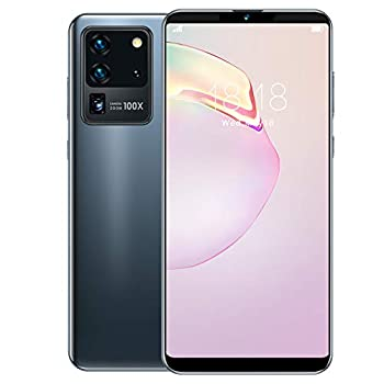 6.1-inch Full Screen Smartphone Face ID Unlocked Cell Phone 5-Point Touching Screen Dual Cards Dual Standby MTK6580P Quad-core Support for Android