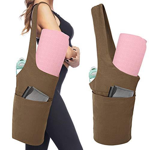 MoKo Yogamatte Tasche, Tragetasche für Yogamatte Leicht Sporttasche mit Groß Fach &...