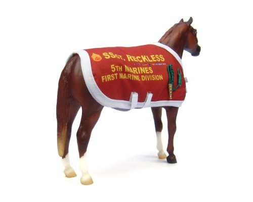 "Breyer Traditional Series Sergeant Reckless | Model Horse Toy | 8.75"" x 7"" 