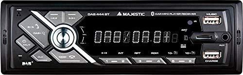 New Majestic DAB-444 BT - Autoradio Bluetooth 1 DIN DAB
