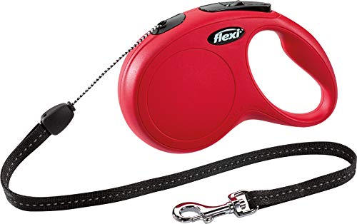 flexi New Classic S Seil 8 m rot für Hunde bis 12 kg
