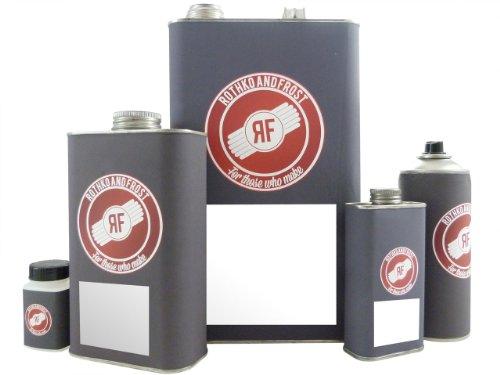 R & F nitrocellulose lak - satijn doorzichtig (250 ml)