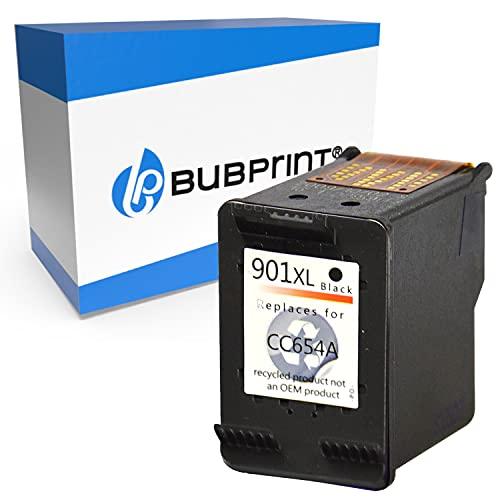 Bubprint Kompatibel Druckerpatrone als Ersatz für HP 901 XL für OfficeJet 4500 Wireless J4500 J4524 J4535 J4540 J4545 J4550 J4580 J4600 J4585 J4624 J4660 J4680 J4680C Schwarz