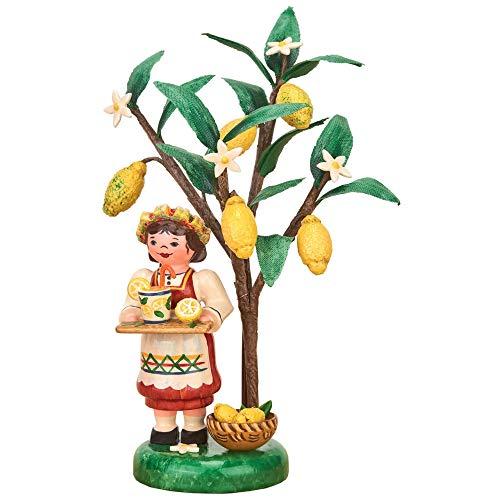 Hubrig Volkskunst Herbstkinder Jahresfigur 2020 Zitrone - 13 cm
