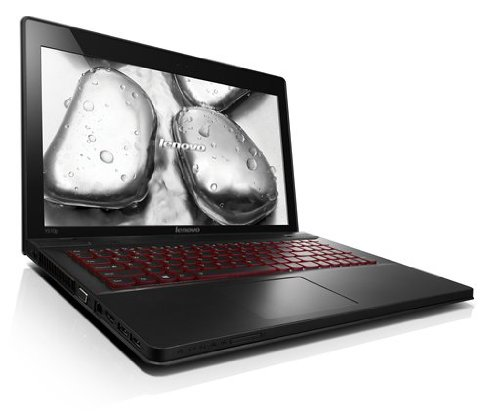 Lenovo IdeaPad Y510p 39,6 cm (15,6 Zoll FHD LED ANTI-GLARE) Notebook (Intel Core i7 4700MQ, 16GB RAM, 256GB SSD, 2x NVIDIA GeForce GT 750M / 2 GB(SLI), Win 8) schwarz
