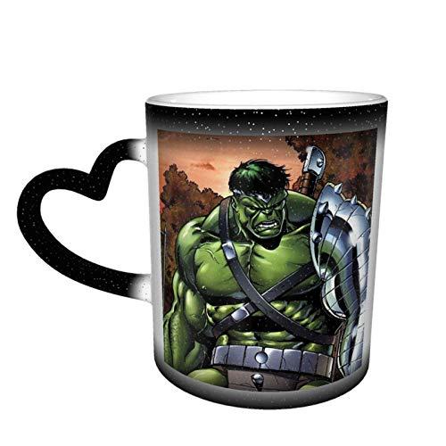 Anime Moive Hulk - Taza de té de cerámica con diseño de anime Moive Hulk